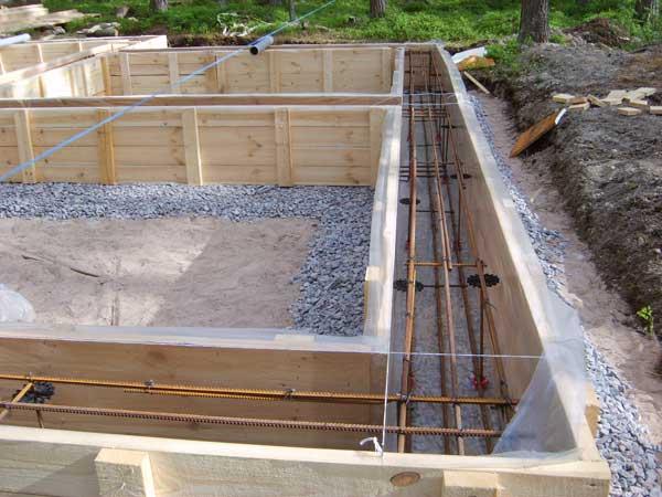 Как залить фундамент под дом своими руками - Инструкция