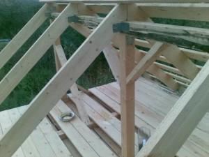 фото: стропильная система крыши