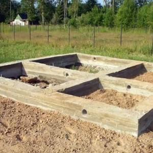 фото: фундамент бани