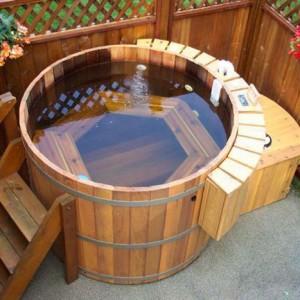 фото: японская баня офуро