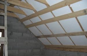 фото: как утеплить крышу бани