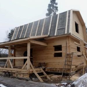фото: крыша крытая рубероидом