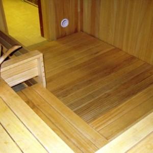 фото: пол в бане