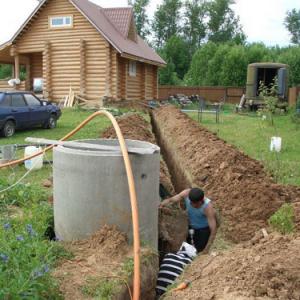 фото: Как подвести в баню воду
