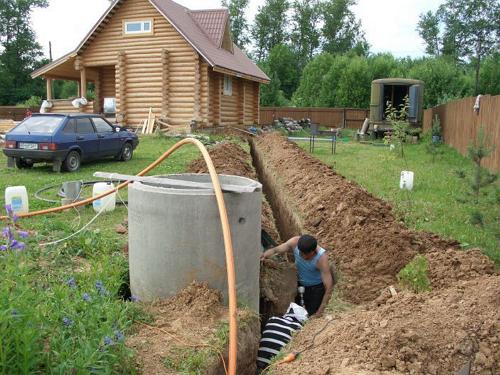 Как правильно сделать канализацию своими руками