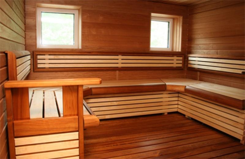 Деревянные полки для бани своими руками фото 5