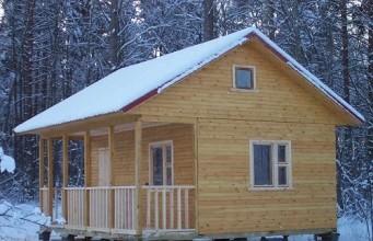 фото: Можно ли строить баню зимой