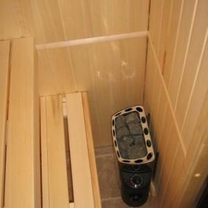 Баня в ванной комнате своими руками