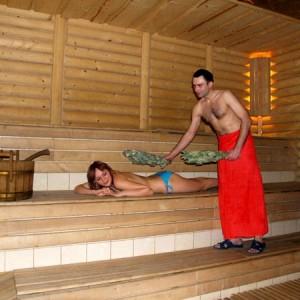 фото: температура в финской бане
