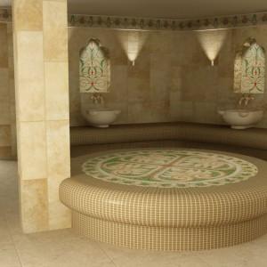 фото: температура в турецой бане