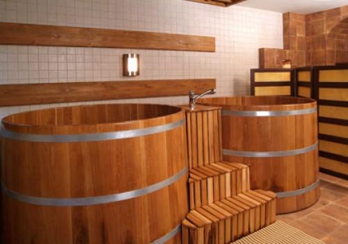 фото: Японская баня офуру