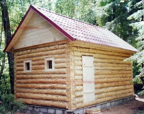 фото: какой фундамент лучше для бани