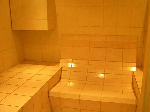 фото: простая отделка бани маслова