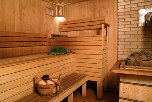 фото: внутренняя отделка бани