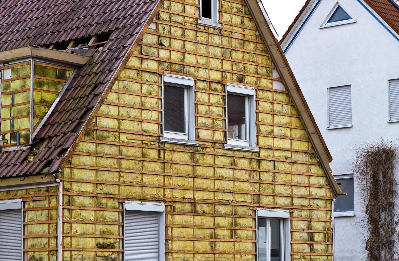 Утепление бревенчатых домов