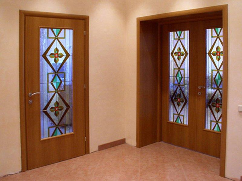 Установка межкомнатных дверей своими руками фото смотреть