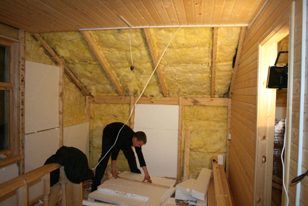 чем утеплить потолок в даче система скидок При