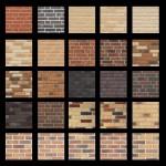 Таблица фасадных панелей