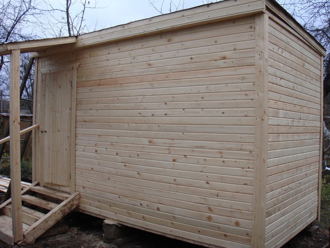 Как построить каркасную баню своими руками недорого