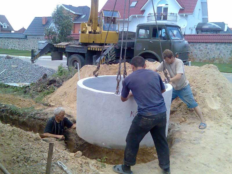 Выгребная яма своими руками без бетонных колец 86