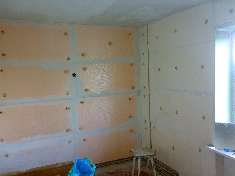 Утеплить стену в квартире в панельном доме изнутри своими руками