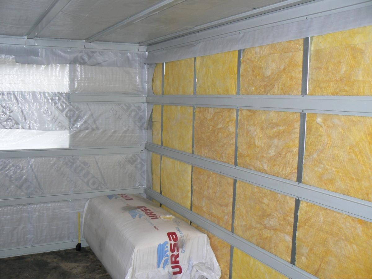 Теплоизоляция стен сауны своими руками