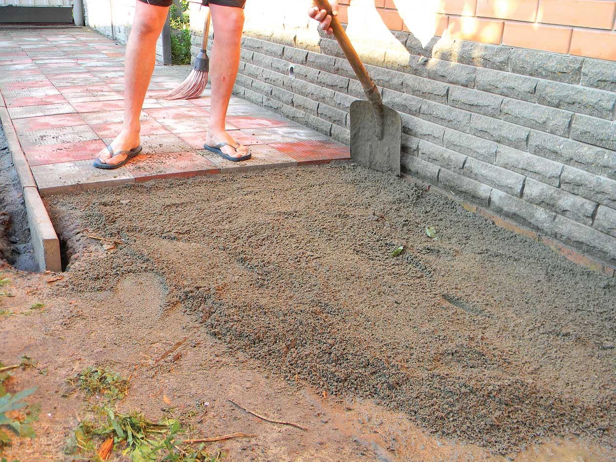 Тротуарная плитки своими руками фото