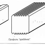 Схема брусов