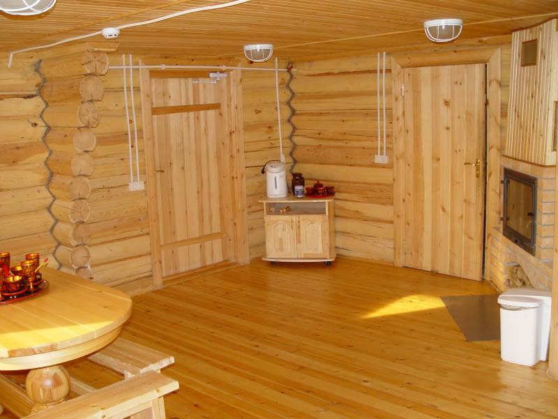 Особенности отделки банного помещения