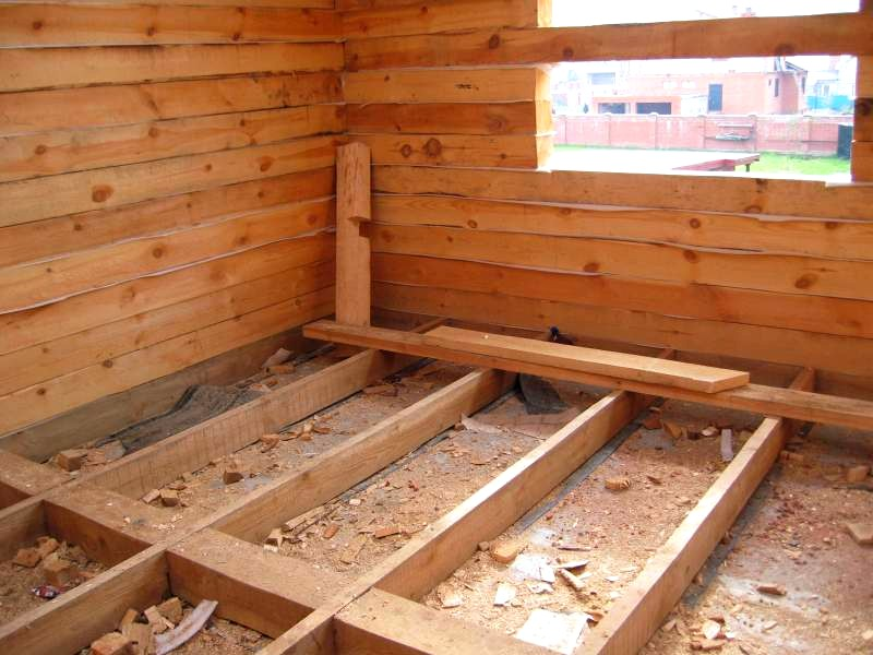 Основные этапы строительства бань из дерева