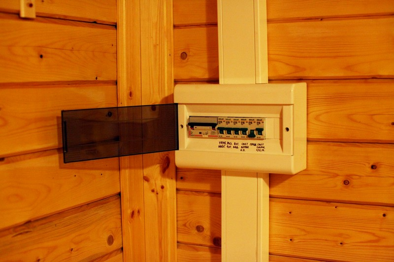 Правила проведения электричества в баню