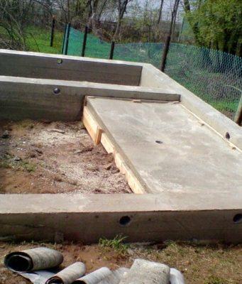 Фундамент для бани 3х4 м