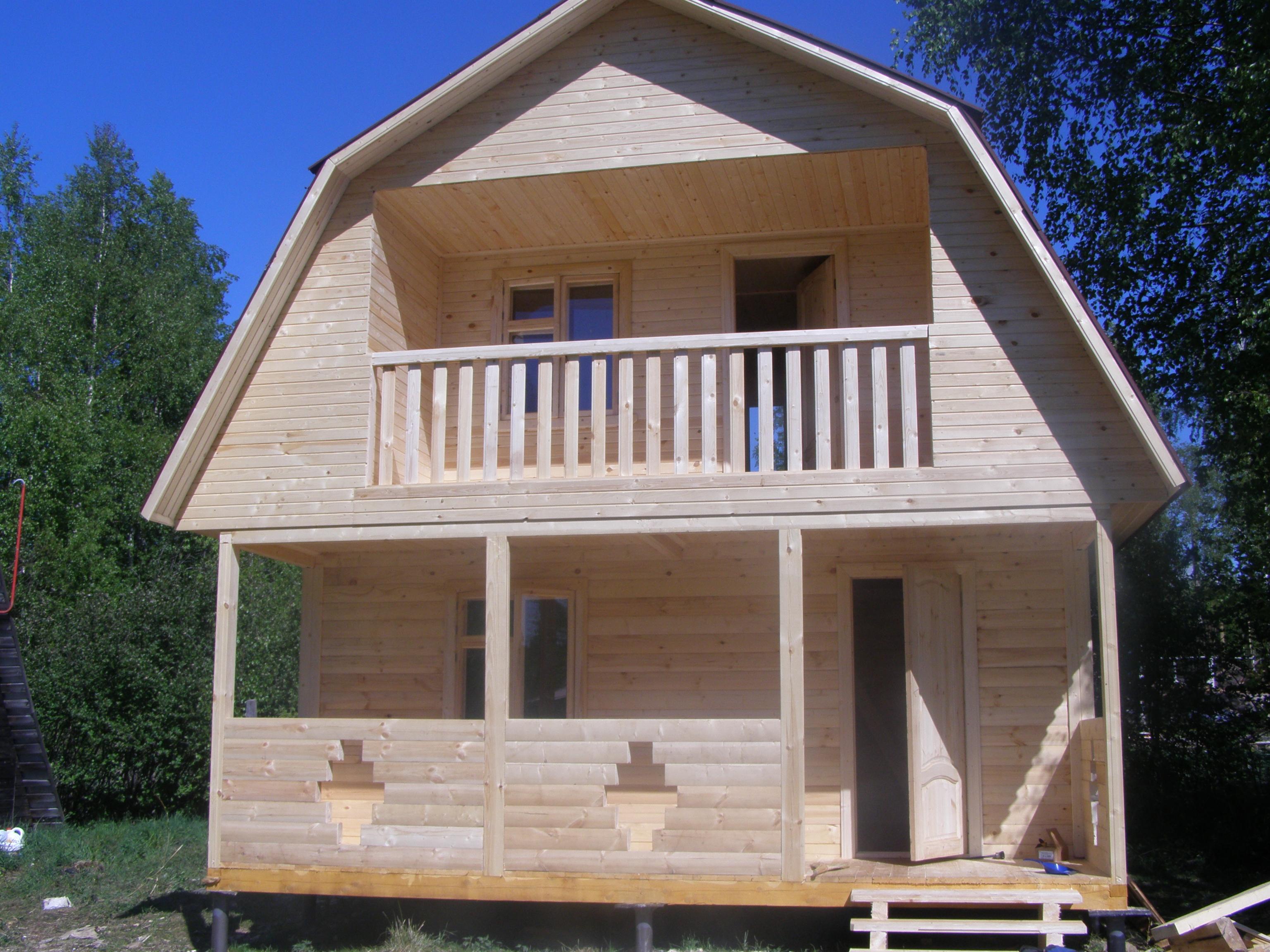 Готовый деревянный дом своими руками