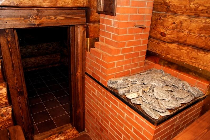 кирпичная печь в баню