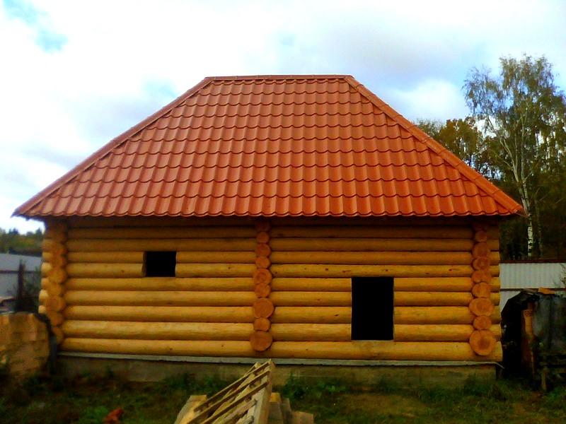 крыша бани