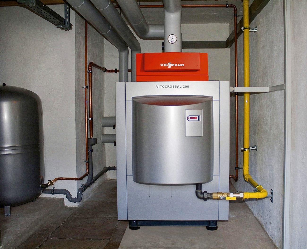 Газовое отопление в бане