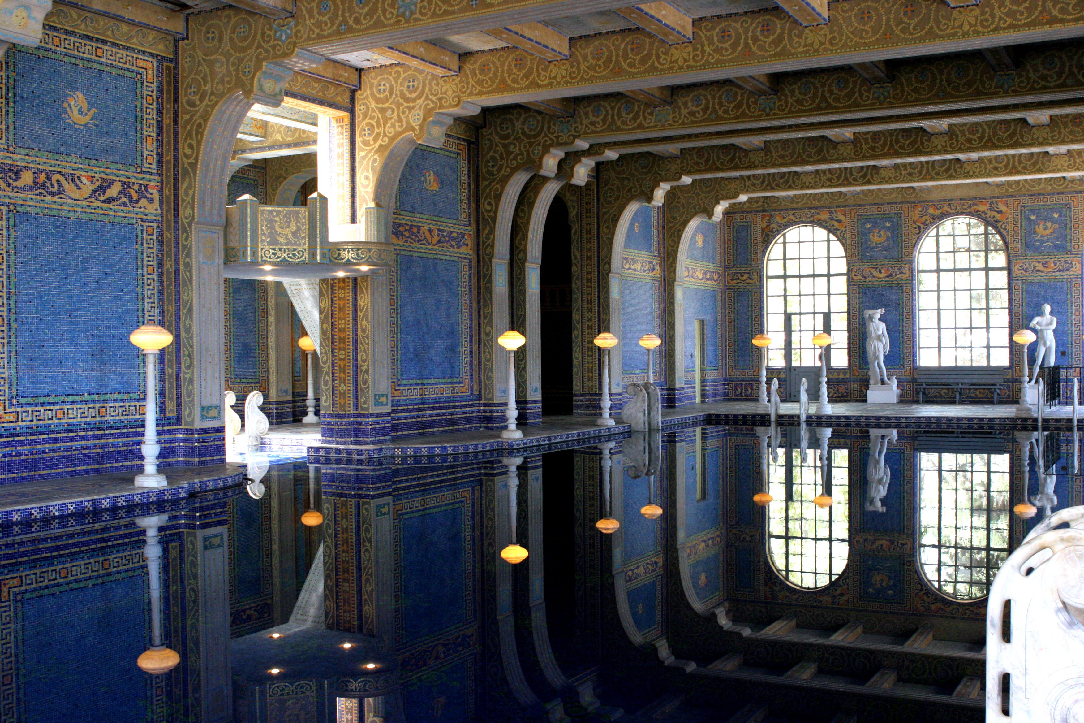 Современная римская баня