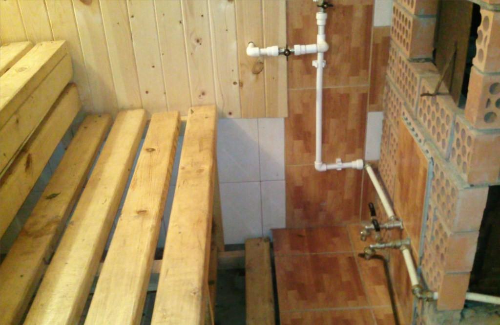 Как правильно сделать канализацию для бани 670
