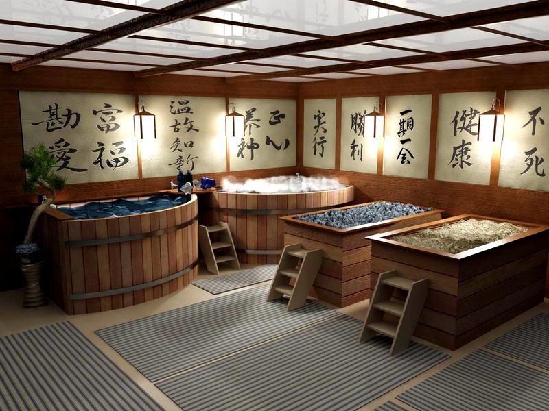 баня в Китае
