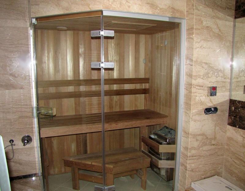Использование пластиковой вагонки и пластиковых панелей для отделки моечной бани