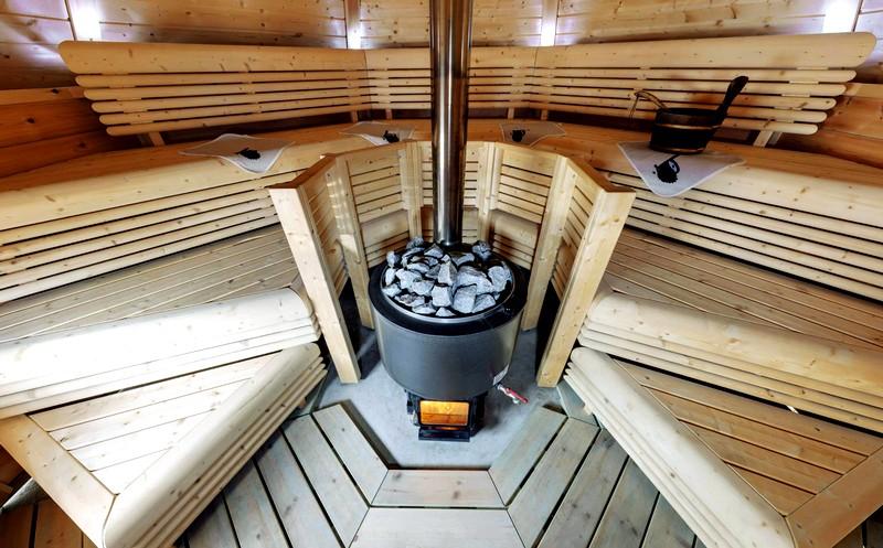Печи для бани на дровах