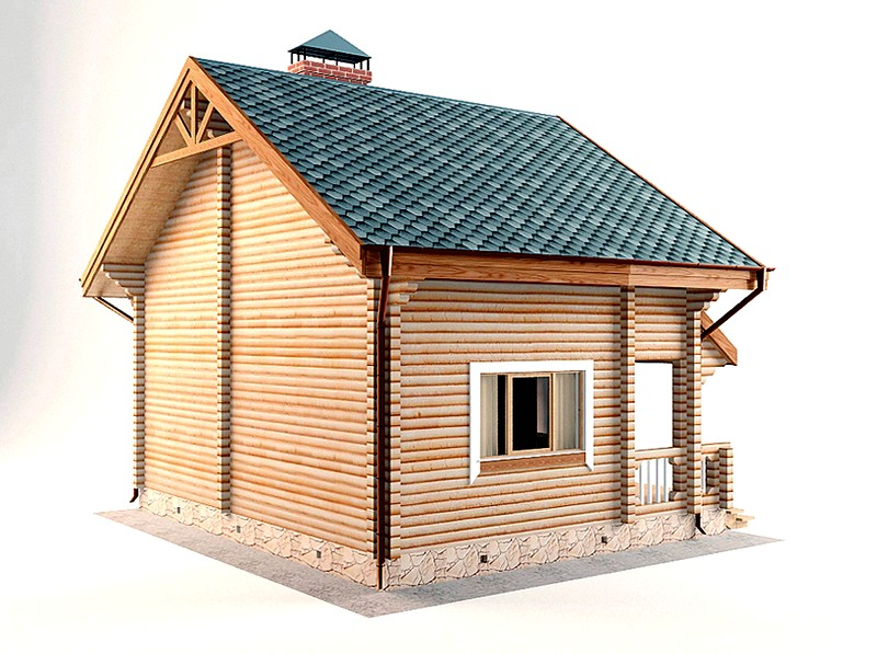 проектирование дома-бани из бруса
