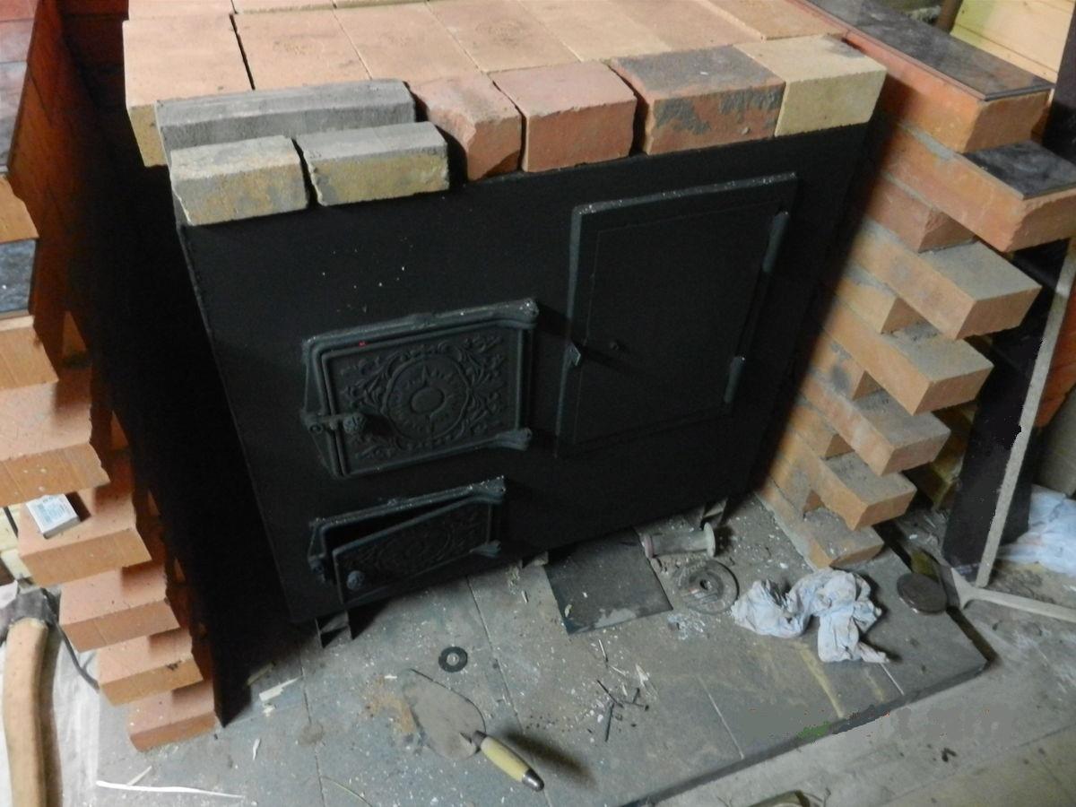 Фундамент под металлическую печь