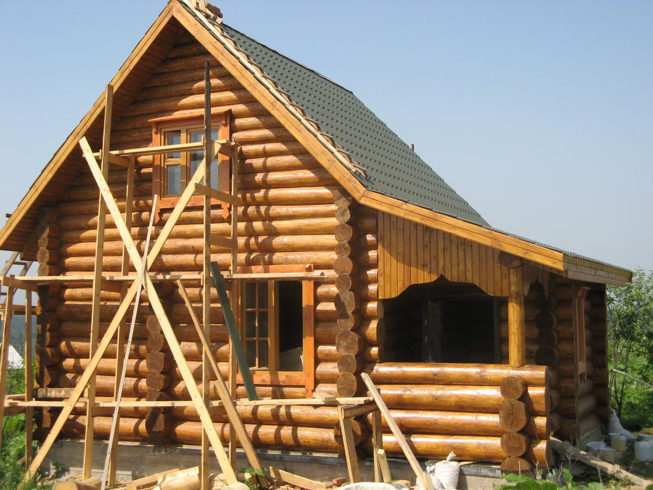 Как построить дом своими руками в сруб