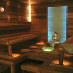 Дизайн освещения бани с помощью светодиодной ленты