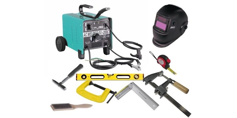 Инструменты для сварки печи в баню