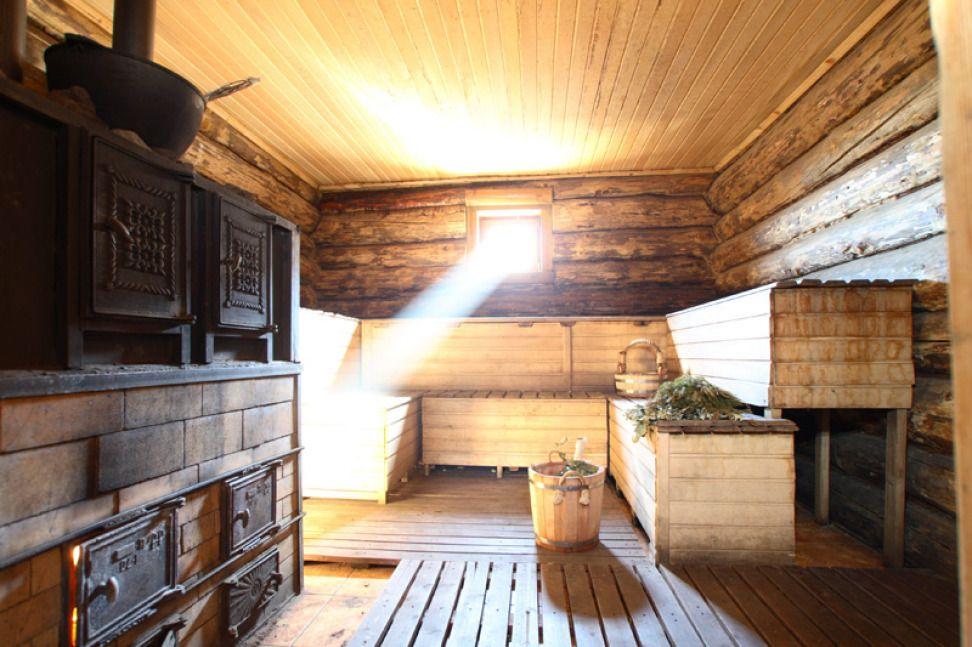 Форточка в русской бане для вентиляции