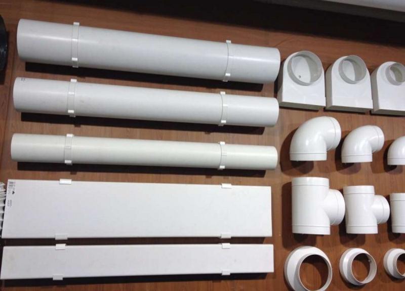 Пластиковые воздуховоды для вентияции