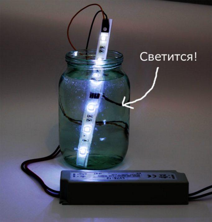 Как защитить светодиодную ленту от влаги своими руками 52