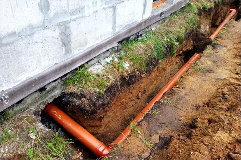 Как сделать канализацию в бане чтобы 347